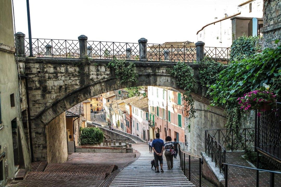 Scalinata dell'acquedotto (Perugia)