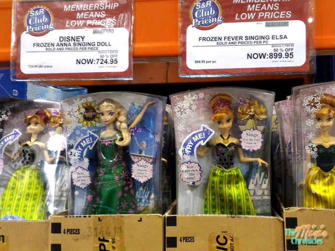 frozen dolls sale at s&r