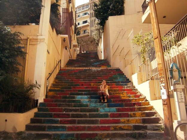 Beirut Painted Stairs