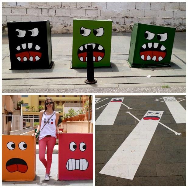 Arte urbano de OAK OAK