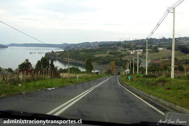 Camino a Queilen - Chiloé