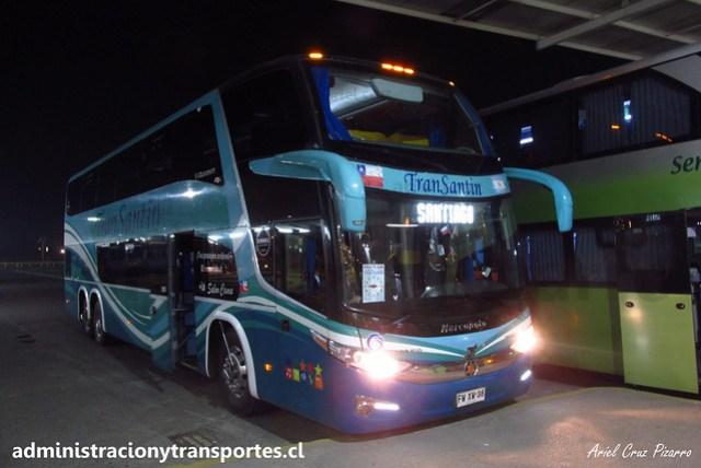Transantin | Valdivia | Marcopolo Paradiso 1800 DD - Volvo / FWXW38