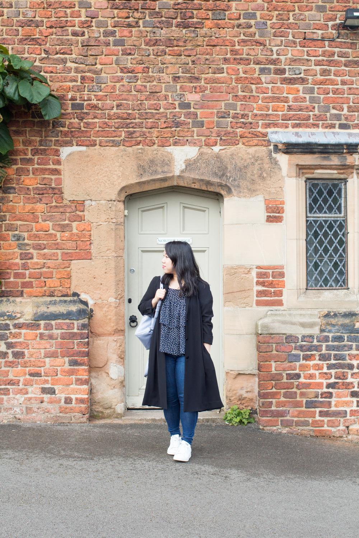 Aston Hall Birmingham Gatehouse outfit
