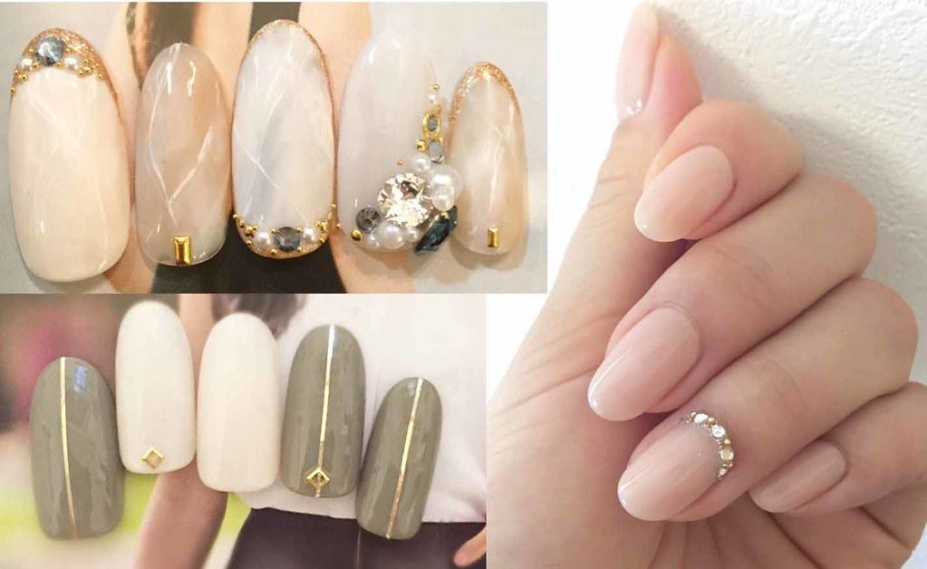 ♥ 大人的凝膠指甲!氣質與優雅的總和 1