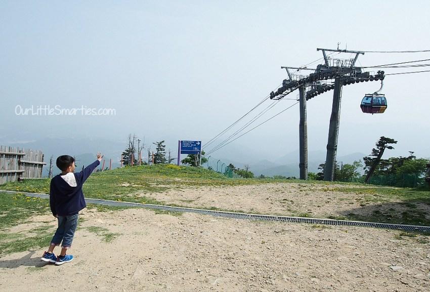Yong Pyong Cable Car 4