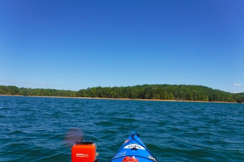 Paddling to Ghost Island in Lake Hartwell-86