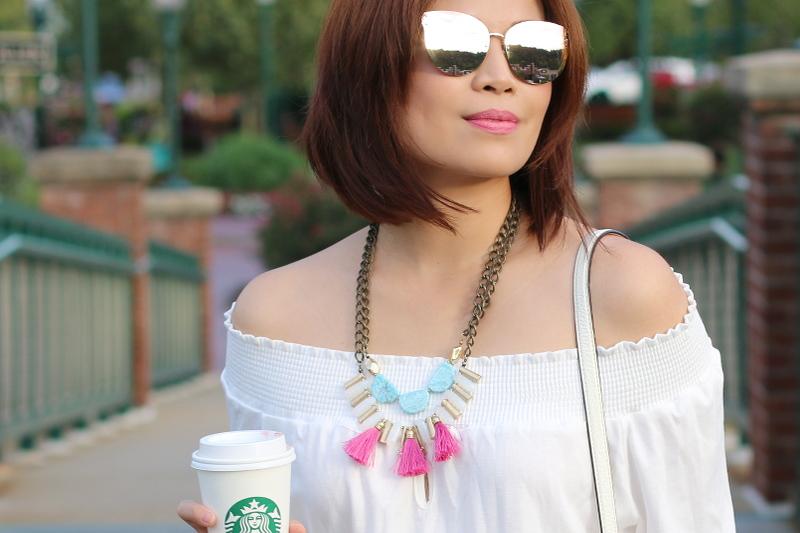 blush-mirrored-sunglasses-pink-tassel-necklace-9