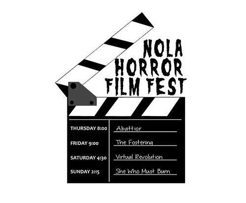 Horror Film Schedule Infographic