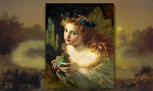 Fantasy Wallpaper Little Girl Computer Wallpaper Sophie Anderson S Take The Fair Face