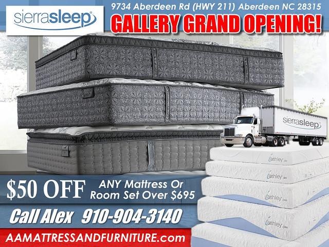 Grand Opening Sierra Sleep NEWER