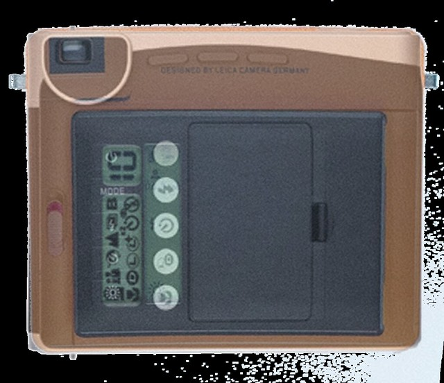 SOFORT and Instax90 : Rear