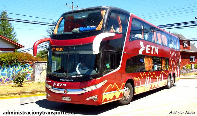 Buses ETM (Salón Cama) en Puerto Varas
