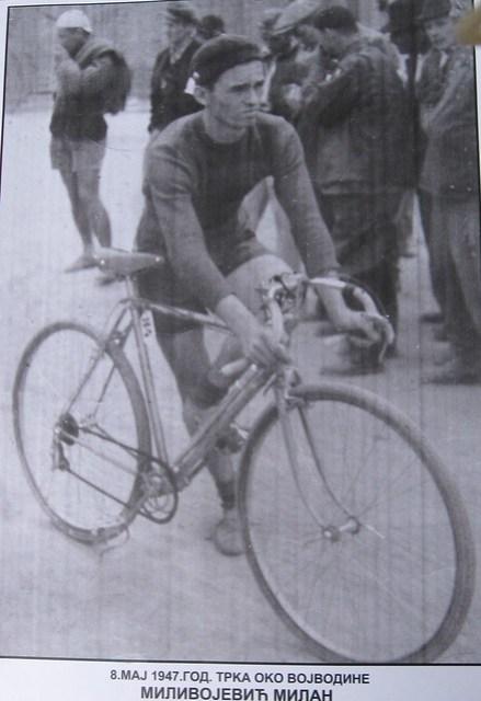 Biciklista Milan MIlivojević