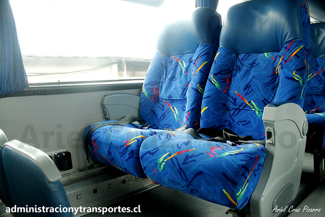 Andesmar Chile | Semi Cama | Metalsur Starbus 2 - Mercedes Benz / FYBK43 - 08