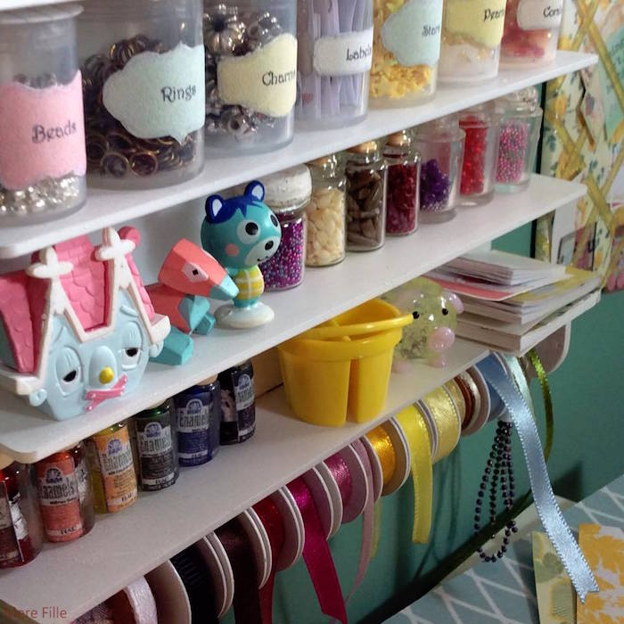Homemade Parties DIY Party _Miniature Craft Room06