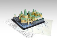 The school year has started at microscale LEGO Hogwarts ...
