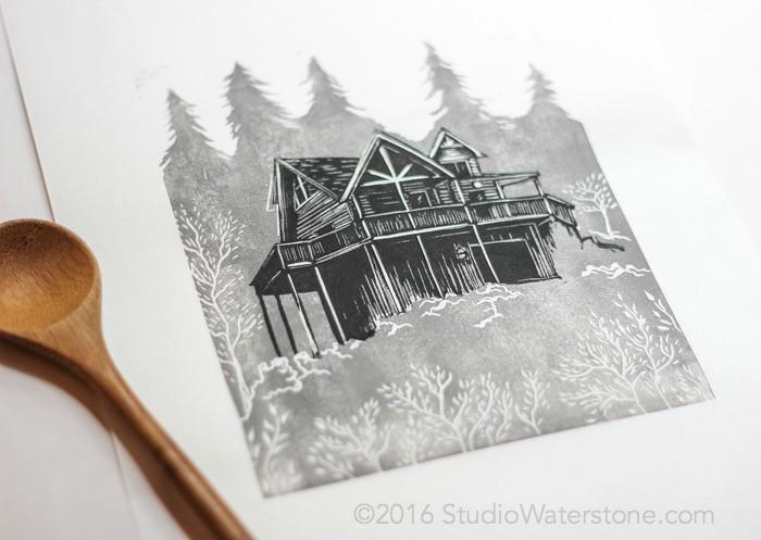 52 Weeks of Print: Week 52 Cabin