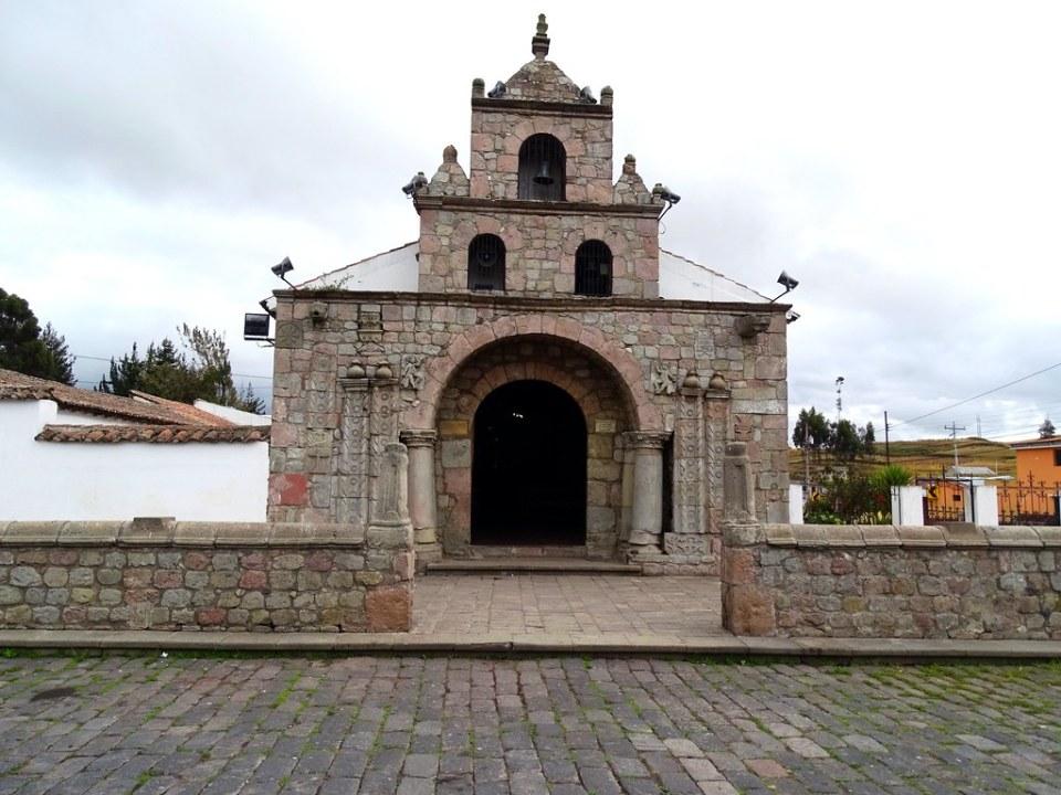Iglesia de Balbanera Colta Ecuador 01