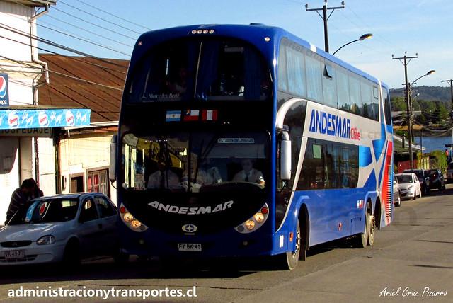Andesmar Chile | Valdivia | Metalsur Starbus 2 - Mercedes Benz / FYBK43 - 08
