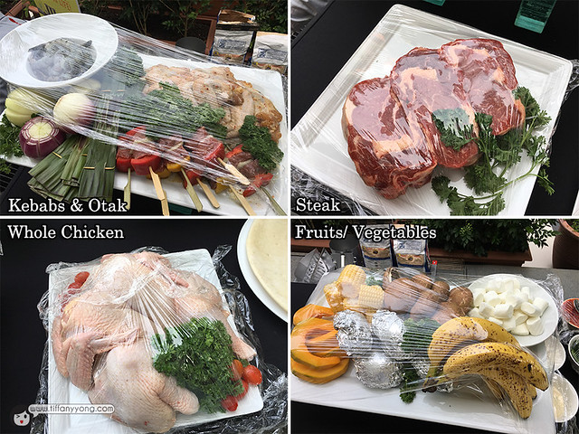 Grill ingredients Weber Asia