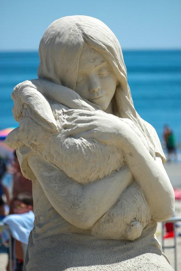 Family Fun Revere Beach Sand Sculpting Festival