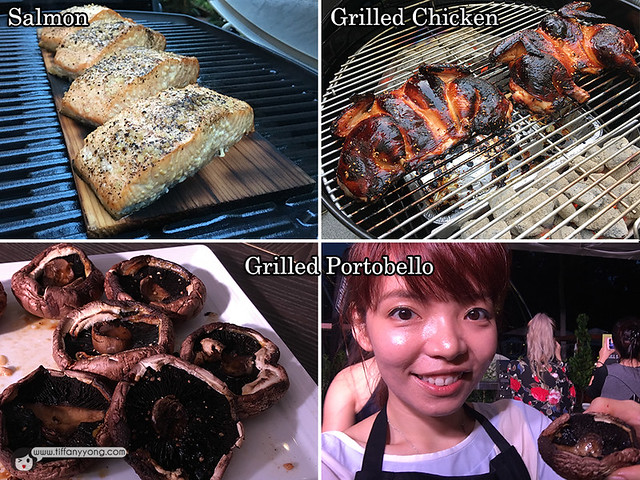 Tiffany Yong Grilling with Weber