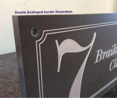 Laser Cut Acrylic Name Plate Pu Coated In Bronze Matt