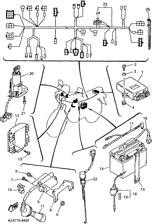 Yamaha Zeal Wiring Diagram
