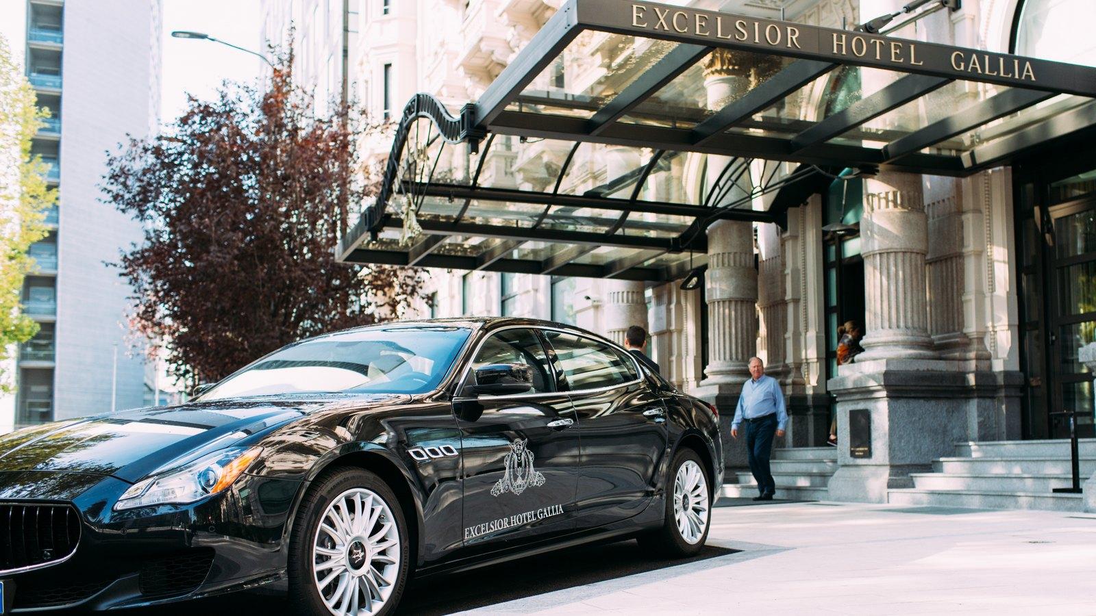 Maserati Excelsior Hotel Gallia Milano