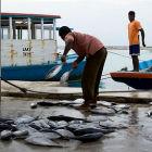 Fishermen in Maldives