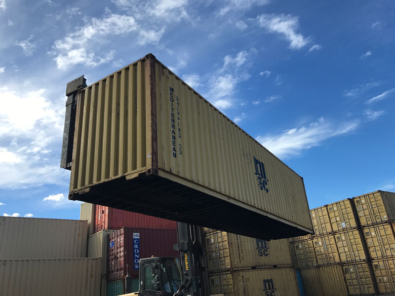 40ft High Cube Wind and Water Tight Container