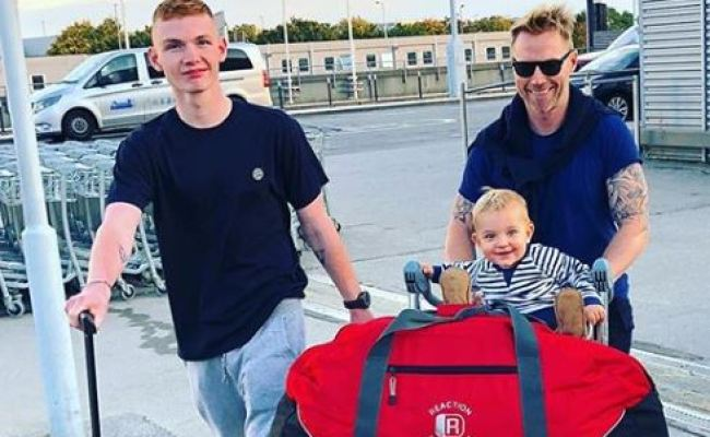 Ronan Keating Posts Emotional Tribute As Son Jack Goes
