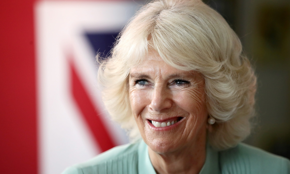 Camilla Parker Bowles Wows In Statement Shirt As She