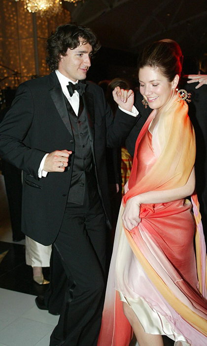 Justin can't help but stare at his ravishing wife, Sophie, clad in a colourful gown and matching shawl at the Daffodil Ball in Montreal the year before they married. Justin proposed a few months later on Oct. 18 at the swanky St. James hotel, the same day son Xavier was born!Photo: Marie-France Coallier/Montreal Gazette/CP