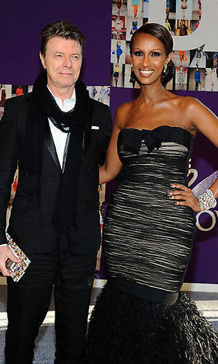 David Bowie Iman Wedding : david, bowie, wedding, Shares, Never-before-seen, Photo, David, Bowie, Honour, Their, Wedding, Anniversary, HELLO!, Canada