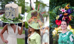 Image result for ridiculous racing day hats