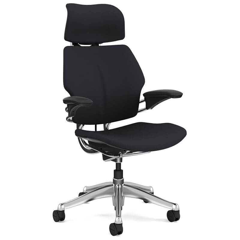 ergonomic chair description orange bucket swivel office executive freedom task humanscale