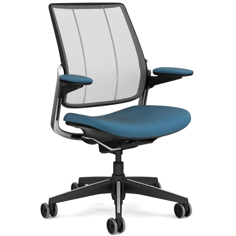 diffrient smart chair round wicker cushions ergonomic office & executive | freedom task humanscale