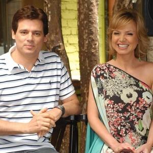 Celso Portiolli e Eliana estarão na cobertura de Carnaval do SBT