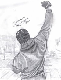 Free rocky balboa coloring pages