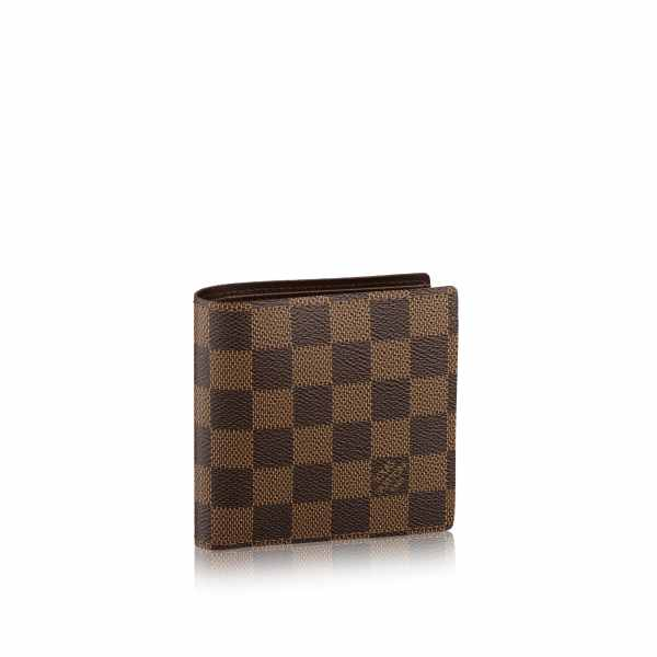 Marco Wallet Damier Ebene - Small Leather Goods Louis