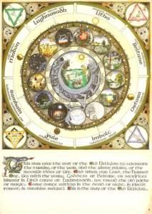 Silver Circle Moon Calendar