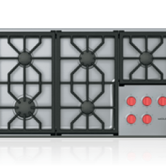 Kitchen Stove Tops Light Fixtures Gas Cooktops Stovetops Wolf Appliances 36 Professional Cooktop 5 Burners
