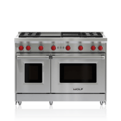 Wolf Kitchen Ranges Ikea Prices 36 In Gas Range Six Burners Convection Oven Appliance Get Both An Infrared Charbroiler And Griddle 48