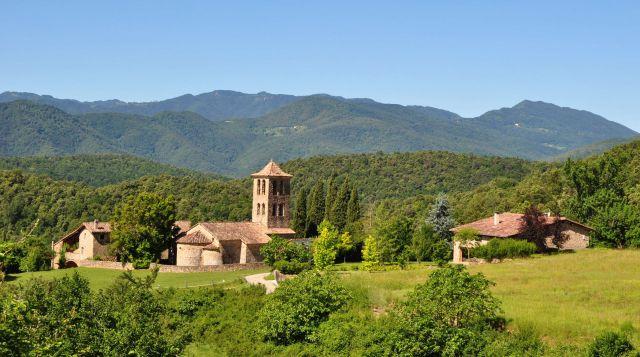 Romànic a la Vall de Bianya