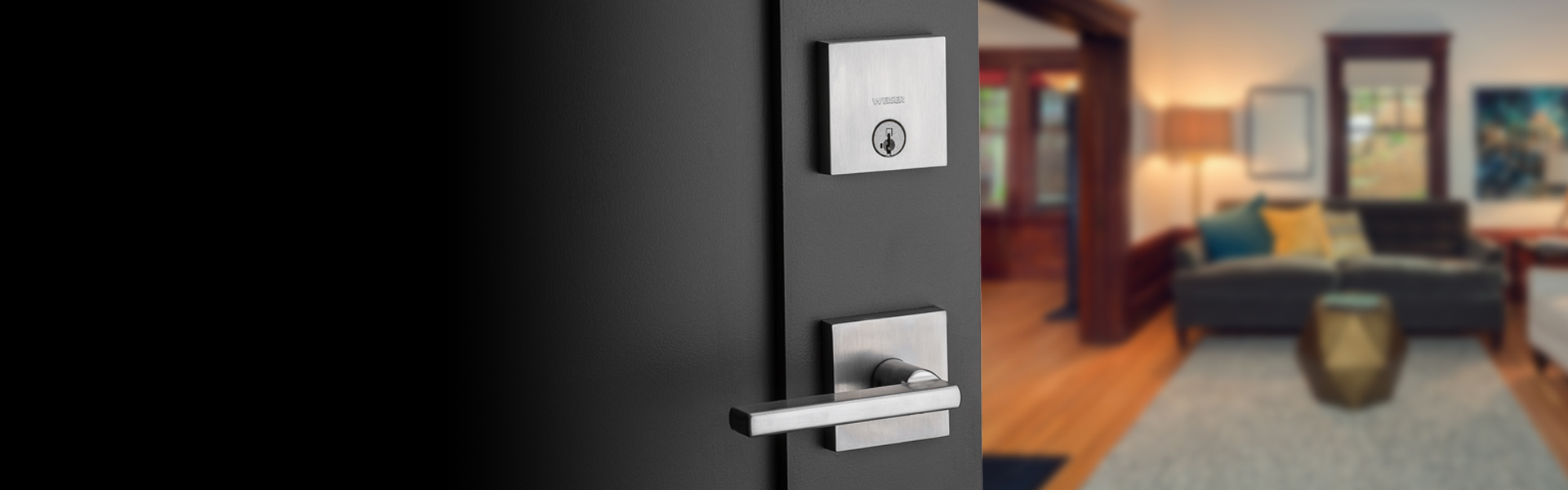 hight resolution of weiser lock deadbolts