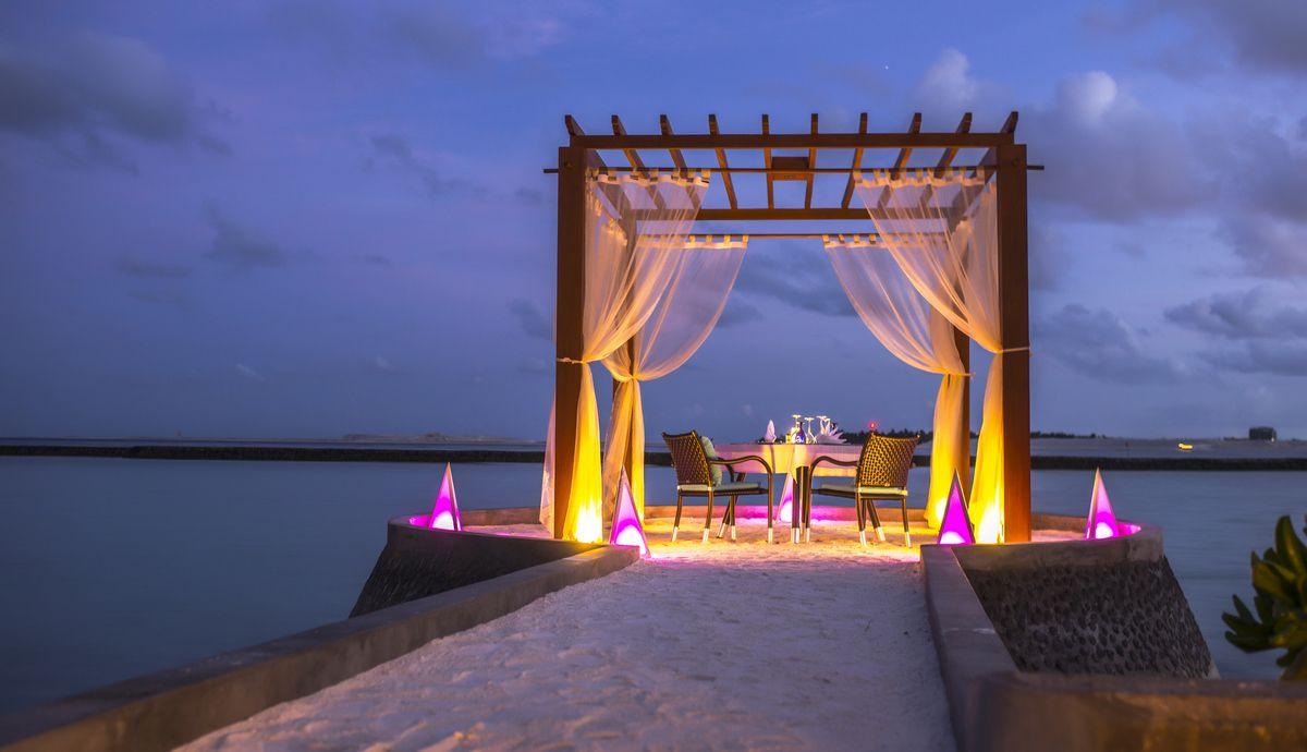 Private Dining For Special Occasions Sheraton Maldives