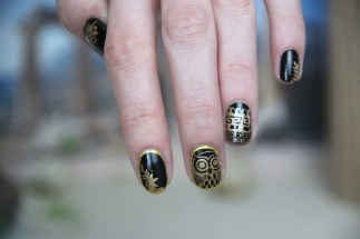 nail art greek