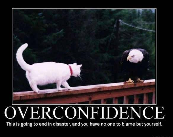 over confidence
