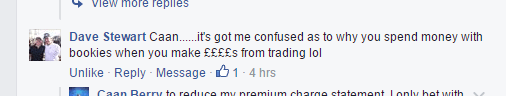 Matched Betting Comment